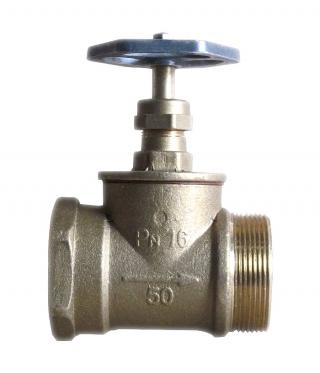 Вентиль пожарный латунный прямой ДУ-50