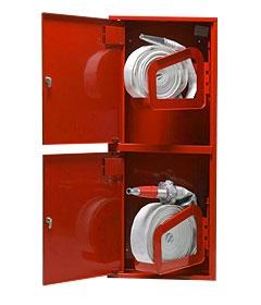 Пожарный шкаф 540х1500х230 мм.