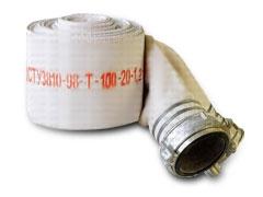 Рукав пожарный техника d-100 с ГРН-100 (Украина)
