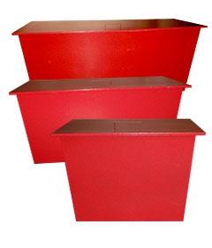 Ящик для песка стационарный 0,5