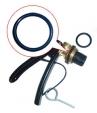 Кольцо резиновое уплотнительное под ЗПУ порошкового огнетушителя